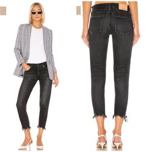 MOUSSY VINTAGE Staley Tapered Black Jeans SIZE 30